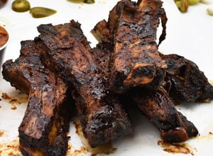 bbq beef ribs are popular item from Brothers BBQ Colorado