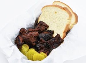 Brothers BBQ Colorado burnt ends are a popular menu item