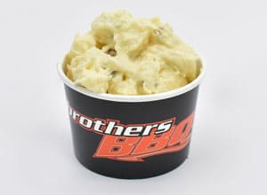 creamy potato salad available at Brothers BBQ Colorado